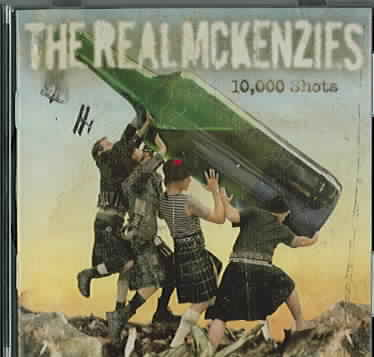 10,000 SHOTS BY REAL MCKENZIES (CD)